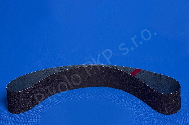 Brus.pás 100x3350 mm, karborundum, zr. 220