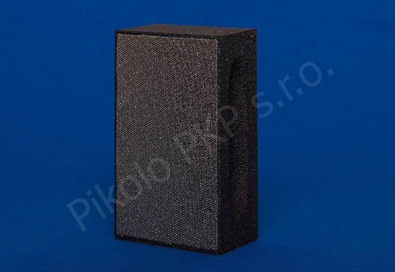 Diaflex černý hrubý D 126 (120 M) - dimantová brusná houbička na sklo