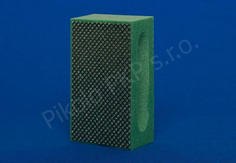 Diaflex zelený - extra hrubý D 251 (60 M) - diamantová brusná houbička na sklo