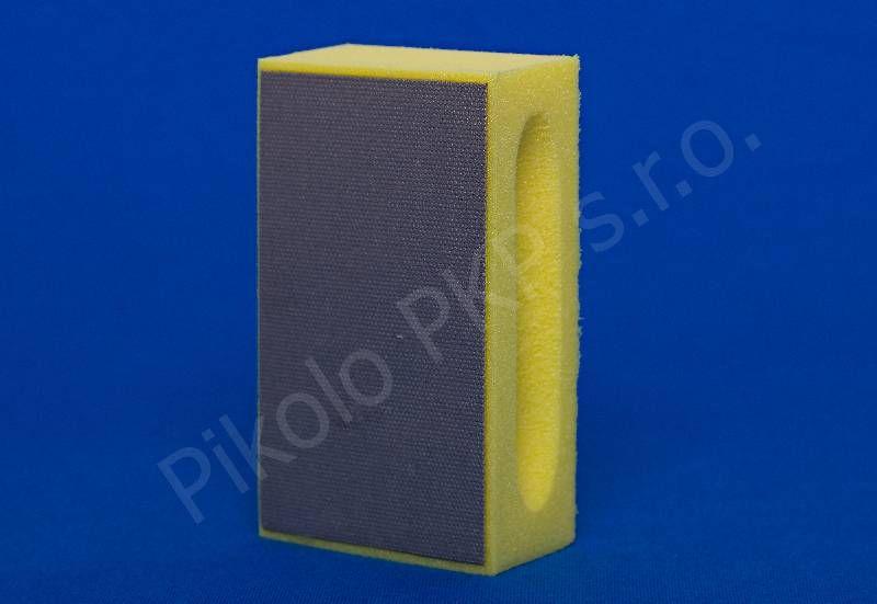 Diaflex žlutý jemný D 46 (400 M) - diamantová brusná houbička na sklo