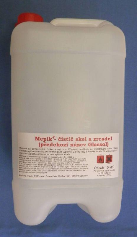 Mepik - čistič skel a zrcadel 10 l Pikolo PKP s.r.o.