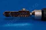 Japonský řezák na sklo Nikken kovový; NC-X02B; pro sílu 2-6mm; úzká hlava - řezák na sklo olejový