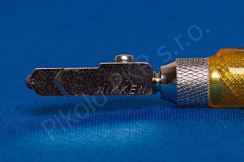 Nikken - náhradní hlava úzká pro typy X02 a X02B japonský řezák na sklo