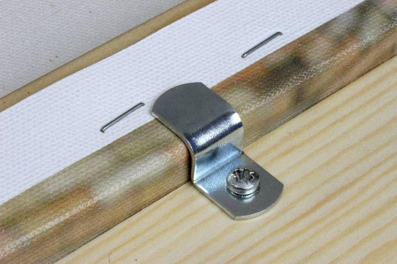 S háček pro napínací rám výška 18 mm