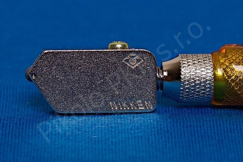 Pro japonský řezák na sklo Nikken - náhradní hlava široká pro sílu skla 6 - 12 mm (Z03T)
